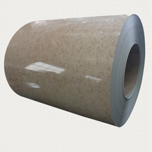PPGI PPGL marble pattern color coated steel sheet coil for wall panels