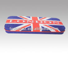 The union jack pencil can box