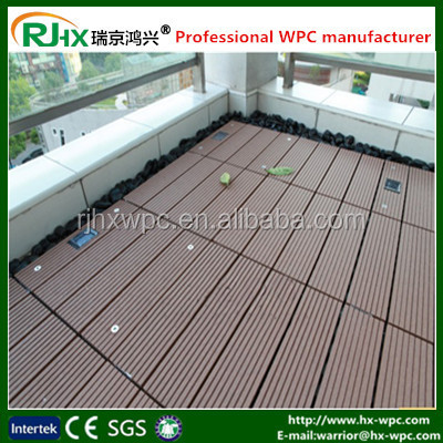 High quality weather resistance WPC Decking Outdoor Flooring wpc co-extrusion decking