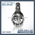 Hi-max diving primary flashlight cree xm-l u2 *3 led scuba diving video light
