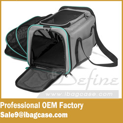 Soft-sided Pet Travel Carrier With Fleece Pad