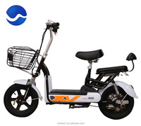 high quality low price best sale classic popular battery power adult electric motorcycle scooter QF-MN-XSL-W