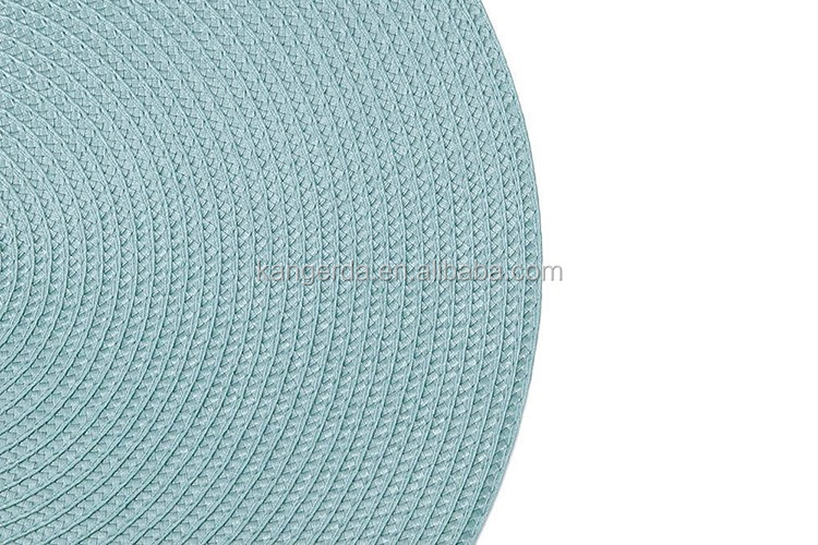 Promotional Wholesale Cheap Home Solid Round Placemat
