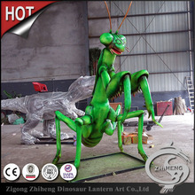 Large park simulation model of insect mantis
