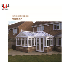 Prefabricated houses sun glass house patio garden room best price Philippines approval