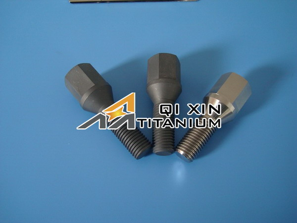 Top level newly design m4 titanium bolts for motorcycle