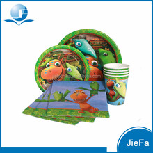 Children Party Supplies Cute Dinosaur Party Pack