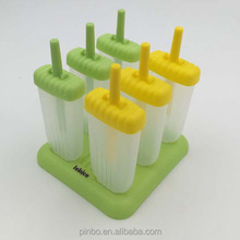 Popular Top Amazon Seller Reusable Plastic Popsicle Mold