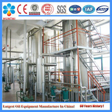 Professional manufacturer rice bran oil refining production line