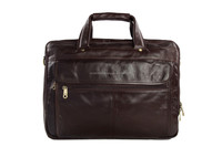 7146 Moshi Vintage Style Oil-Tanned Leather Briefcase for Men