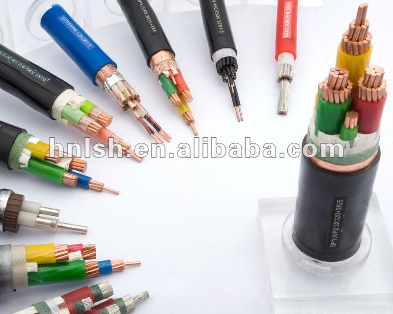 0.6/1KV copper PVC insulatd power used NYY cable