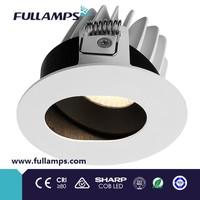 Anti glare 10W Incasso LED, CE ROHS approval for hotel, 80lm/W, diameter 90mm, cut hole: 83mm