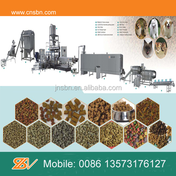Large output Full automatic dog food machine
