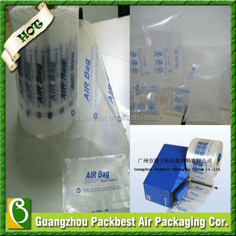 2015 Air bubble Film Roll inflatable Machine for packaging air bag
