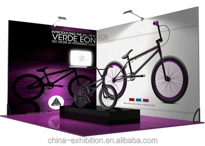3x3 trade show booth exhibit display