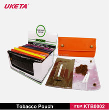 PU CHEAP LEATHER TOBACCO POUCH