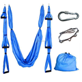 Yoga Swing Inversion Sling/Aerial Yoga Hammock Swing. Inlcudes 2 Daisy Chain Adjustable Straps-9 Colors Options