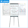 Custom free standing portable mobile flip chart smart whiteboard price with sticker