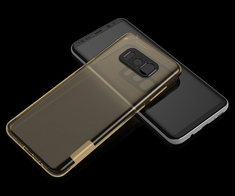 2017 new arrival shock proof ultra thin tpu phone case for samsung galaxy s8
