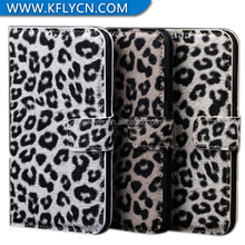waterproof shockproof leopard print design pu leather cases for xiaomi