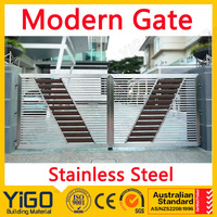 Professional retractable fences gate with high quality