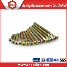 high quality hex scoket cheese head screw with color zinc plated