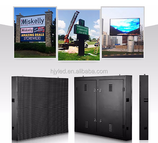 super bright waterproof full color outdoor advertising led display screen prices