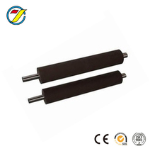 Lamination rubber coated roller or doctor roll for plastic gravure printing machine