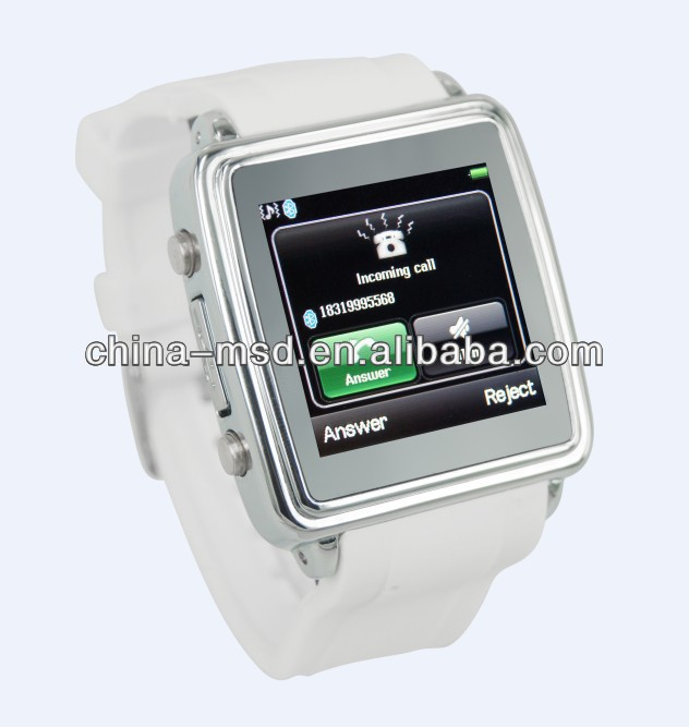 newest bluetooth smart watch phone,can dial/answer calls,read SMS sync for Iphone/Android phones