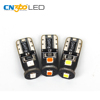 Turn lights License Plate canbus error free 0.5w w5w led bulb yellow auto car dome light