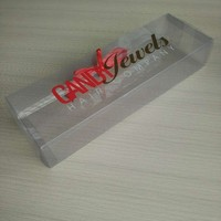 Customized Clear Acrylic Pvc Packaging Box For Hair Extensions