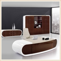 modern glossy white executive office wooden table design photos beautiful ceo desk