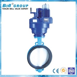 electric types butterfly valve types