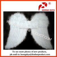 Large Real Goose Feather Angle Butterfly Wings