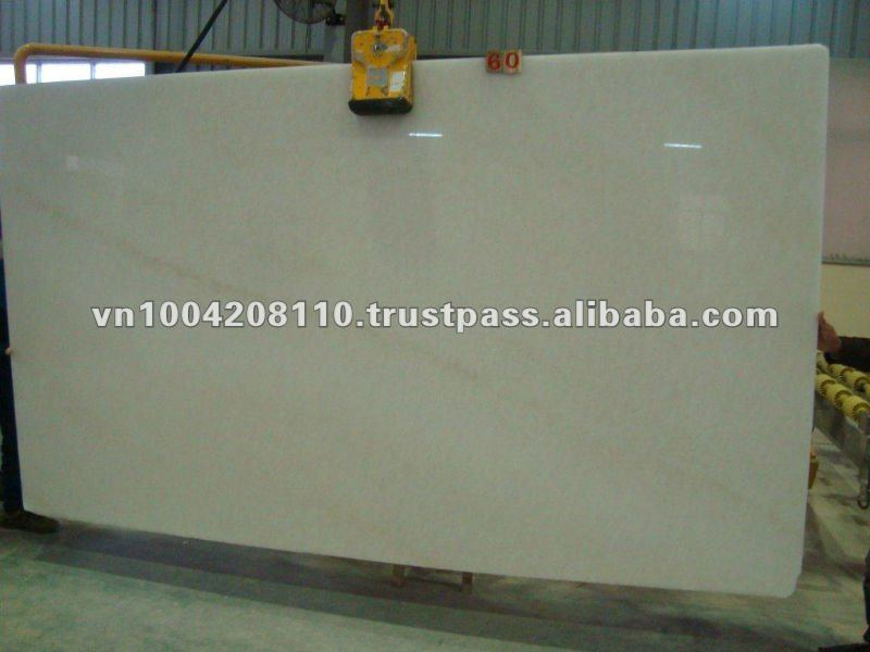 white marble superfine grain slab with grey vain (Book match design 47 USD/M2