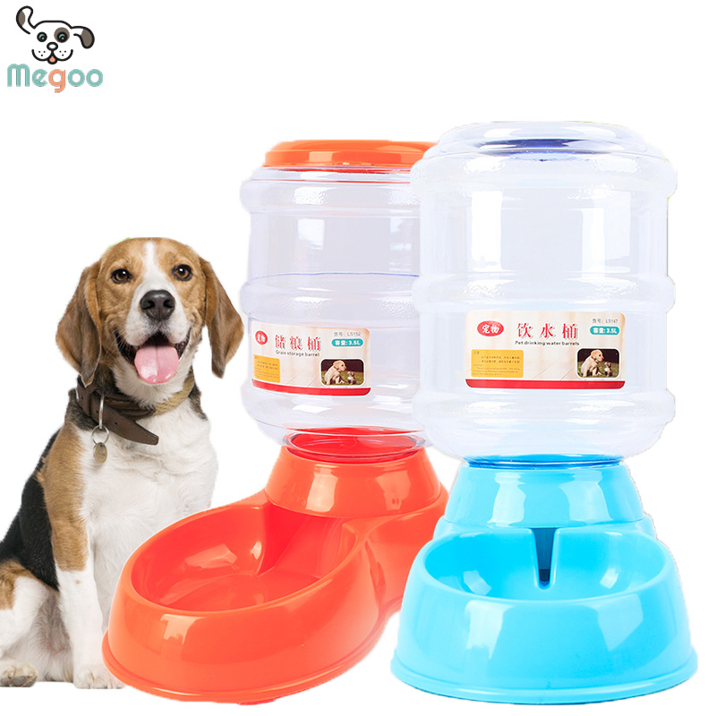 Shop Automatic Pet Feeder 3.5 L Volume Dog Food Water Dispenser