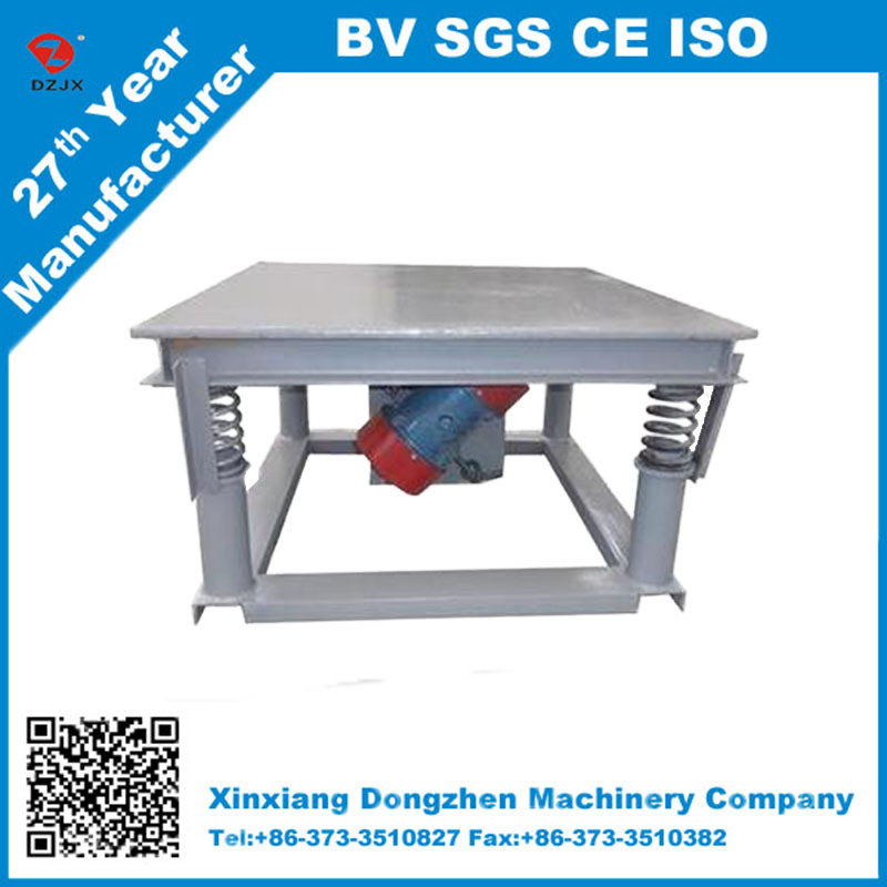 construction industry use Vibrating table concrete for paver