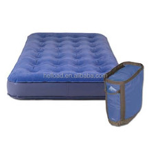 single and double sizes high quality outdoor and indoor soft inflatable air bed for home or champing