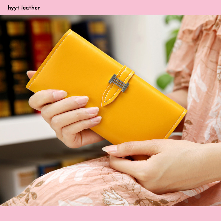 More colors cheap leather belt women long hand purse lowest price of whole network lady's pu leather wallet