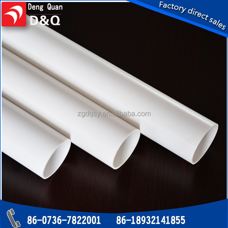 Easy Installation PVC-U Water Supply Pipes High Quality Low Price Clear PVC pipe