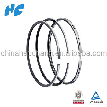 Provide more brand products Standard ISO TS16949 QS9000 Custom Piston Rings