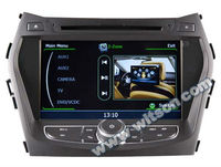 "WITSON 8"" HYUNDAI Santa Fe car dvd player with gps With A8 Chipset S100 Platform"