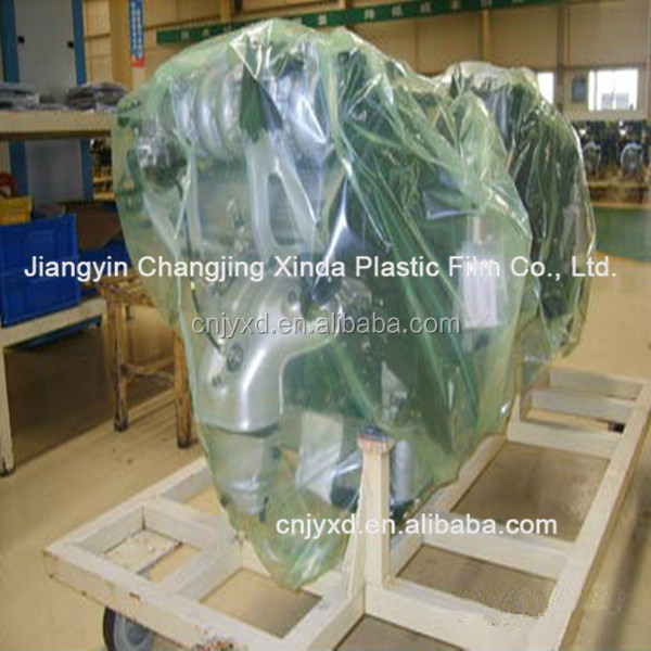 Clear color LLDPE stretch films for packing industry