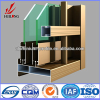 hot sale high quality anodized extruded anodized aluminum extrusion profile for doors and windows