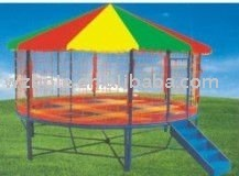 10~16sqm Big Round Trampolines with safetynet