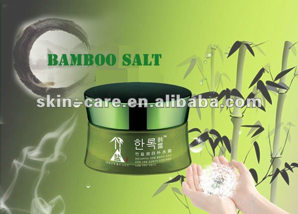 Bamboo salts series whitening & hydrating cream 50 ml / natural whitening cream / no bad for skin