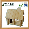 Trade assurance eco-friendly natural wooden bird cages birds house OEM&ODM handicraft