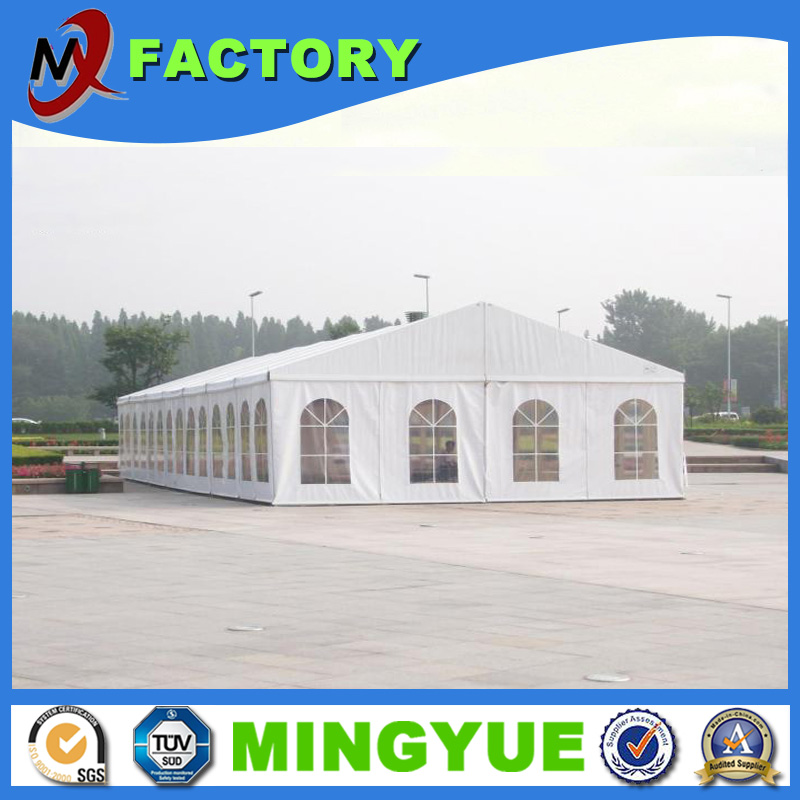 High quality large event tents rain protection transparent pvc new design fashion wedding party marquee bussiness event tent
