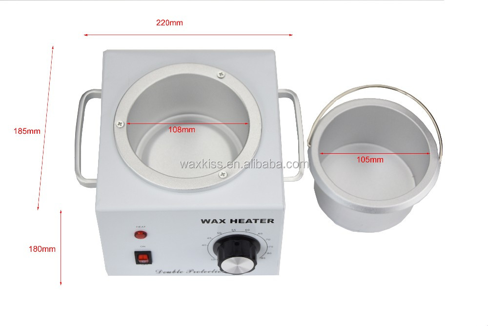 Waxkiss 500cc wax heater, Single Pot Wax Warmer