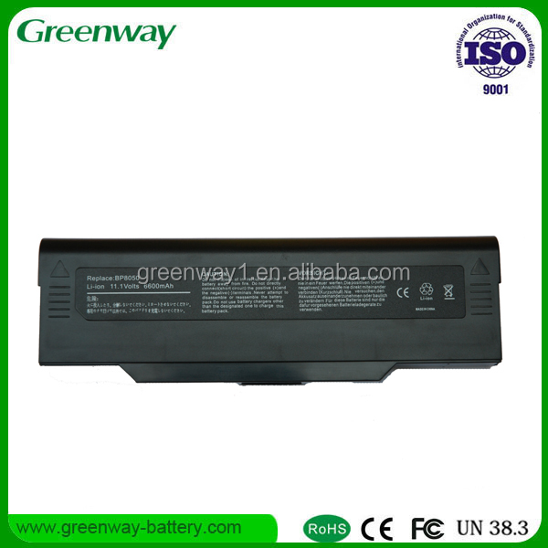 Top quality Notebook batteries MITA BP 8050 11.1V 4400mah